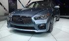 Infiniti Q50 Sport et Hybride 2014 – Images du Salon de l'auto de New York 2013 - 1