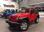 Jeep Wrangler SPORT/CERTIFIÉ/92$SEM.TOUT INCLUS 2015 1 PROPRIÉTAIRE/BAS KILOMÉTRAGE