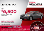 Save on the All-New 2015 Nissan Altima