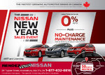 The Nissan New Year Sales Event