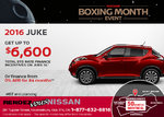 Save on the New 2016 Nissan Juke this Month!