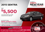 Save on the 2015 Nissan Sentra at Rendez-Vous Nissan!