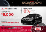Save on the 2016 Nissan Sentra at Rendez-Vous Nissan!