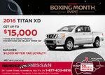 Get the 2016 Nissan Titan XD!