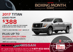 Get the 2017 Nissan Titan Today!