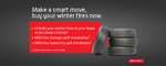 Make a smart move, buy your winter tires now