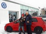 «Merci à toute l'équipe de Volkswagen Lachute!!», Volkswagen Lachute