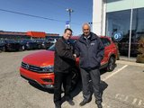 «Merci du bon service Pierre!», Volkswagen Lachute
