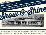 1st Annual Peninsula Ford Lincoln Mercury Show & Shine