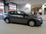 Honda Civic Sdn 2013 DX * AUX* VITRES ET MIROIRS ÉLECTRIQUE*LECTEUR MP3
