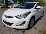 Hyundai Elantra 2015 GL- SIÈGES CHAUFFANTS- JAMAIS ACCIDENTÉ  !!!