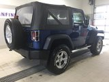 Jeep Wrangler 2010 SPORT + LIFT DE 3 POUCE + 61000KM!!!SHOWROOM!!!