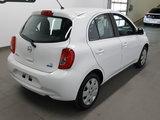 Nissan Micra 2015 SV, A/C, bluetooth, régulateur