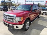 2013 Ford F-150 XLT,5.0 LITER,4X4,CLOTH,LOCAL TRADE,XTR PACKAGE, VERY CLEAN, LOW KMS!!!