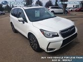 2017 Subaru Forester 2.0XT Limited w/Tech Pkg,LEATHER,SUNROOF,NAVIGATION,AIR,TILT,CRUISE,PW,LOCAL TRADE,WINTER RIMS AND TIRES INCLUDED!!!!