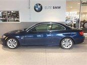 2013 BMW 328i EXECUTIVE, CABRIOLET, 49,000KMS