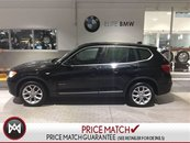 2013 BMW X3 ROOF LEATHER TECK PACK