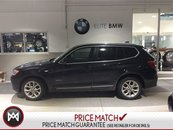 2013 BMW X3 NAVI 4X4 LEATHER ROOF