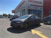 2013 Honda Civic Sdn EX - 6YR/160,000 KMS HONDA WARRANTY, SUNROOF