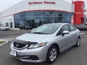 2014 Honda Civic LX, HEATED SEATS, BACK UP CAMERA ,HANDS FREE CAPAB