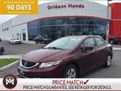2014 Honda Civic LX,HEATED SEATS,HANDS FREE CAPABILITIES