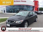 2014 Honda Civic LX,HEATED SEATS ,BACK UP CAMERA
