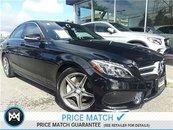 2015 Mercedes-Benz C300 Premium pkg, Premium plus pkg, Sport pkg