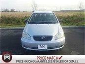 2005 Toyota Corolla A/C,CRUISE CONTROL,CD PLAYER