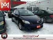 2013 Toyota Corolla CE: BLUETOOTH, KEYLESS ENTRY, USB