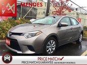 Toyota Corolla LE BACK UP CAMERA HEATED SEATS 2014
