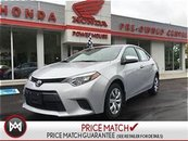 2015 Toyota Corolla $57.02 WEEKLY!LOTS OF REMAINING WARRANTY!LOW KM's!
