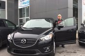 Félicitations M. Benoît et merci de votre confiance envers Chambly Mazda