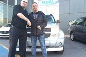 Merci M. Gladu de la confiance apportée à Chambly Mazda