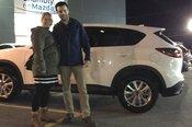 Félicitations à M. Rondeau pour sa nouvelle Mazda CX5