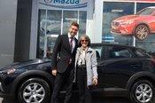 Félicitations Mme Malo pour votre nouvelle Mazda CX3 2017