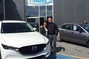Félicitations Mme Daignault pour votre nouvelle Mazda CX5 2017