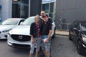 Félicitations M. Et Mme Lapointe pour votre nouvelle Mazda Cx 5