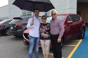 Félicitations M. Durocher pour votre nouvelle Mazda CX5 2017