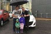 Félicitations Mme Lai pour votre nouvelle Mazda 5