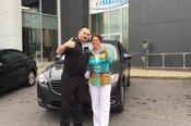 Félicitations Mme Walsh pour votre nouvelle Mazda CX5