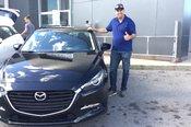 Félicitations Monsieur Marotte pour votre nouvelle Mazda 3 2017