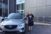 Merci M. Lanoie pour votre confiance envers Chambly Mazda