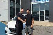Félicitation à M. Crusson pour votre Mazda 3