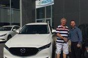 Félicitations M. Massé pour votre nouvelle Mazda CX5 2017