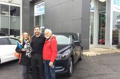 Félicitations Monsieur Godbout et Mme Harpin pour votre nouvelle Mazda CX5 2017