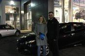 Félicitations Madame Dansereau pour votre nouvelle Mazda 3 2018