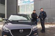 Félicitations à Monsieur Patrick Crépault Gauthier pour sa nouvelle Mazda CX3 sport 2018