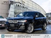 2015 BMW X4 XDrive35i M Sport PKg One Owner No Accident Claim!