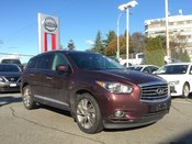 2015 Infiniti QX60 AWD Deluxe Touring * Leather, Navi, Moonroof, DVD!