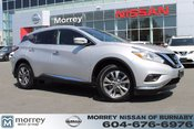 2017 Nissan Murano SL AWD LEATHER LOW KMS